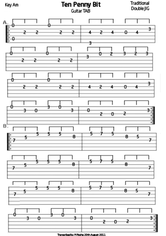 5 string banjo TAB : Mandolin GDAE TAB 196 tunes, so far.