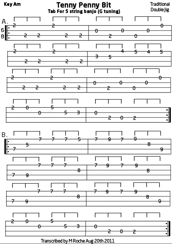 5 string banjo tabs - Music Search Engine at Search.com