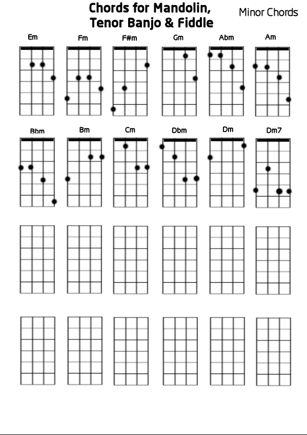 Chords for Tenor Banjo submited images.