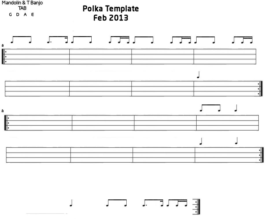 tab templates