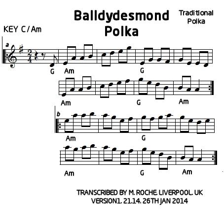 BALLYDESMOND POLKA